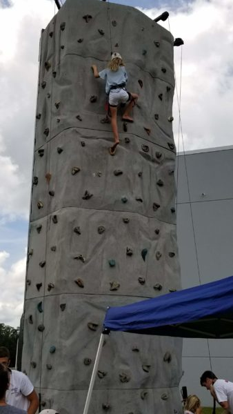 Picture of rock wall