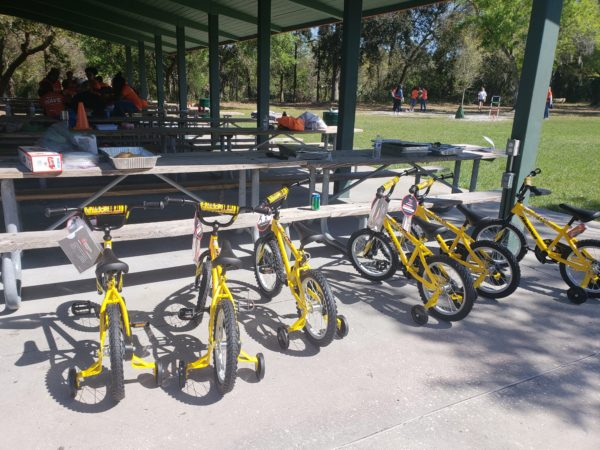 Wellcare - Donated Boy Bikes